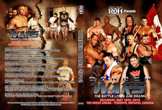 ROH - Border Wars 2012 Event DVD ( Pre-Owned )
