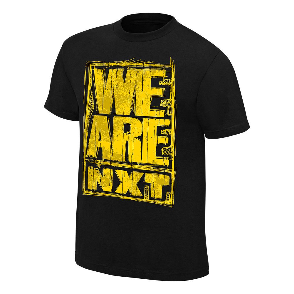 "WWE / NXT ""We Are NXT"" Authentic T-Shirt"