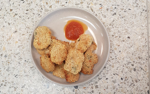 School Holiday Recipes Part 2: Sean's Lifesaving Chicken (Sausage) Nuggets