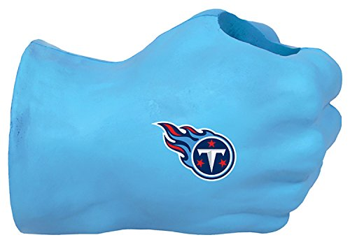 NFL Tennessee Titans Fan Fist TM Beverage Holders, Adult, Light Blue