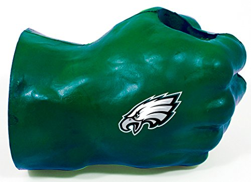NFL Philadelphia Eagles Fan Fist TM Beverage Holders, Adult, Green