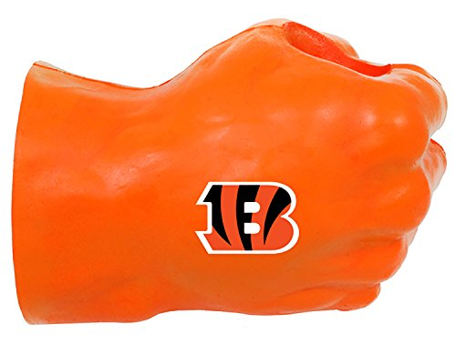 NFL Cincinnati Bengals Fan Fist TM Beverage Holders, Adult, Orange