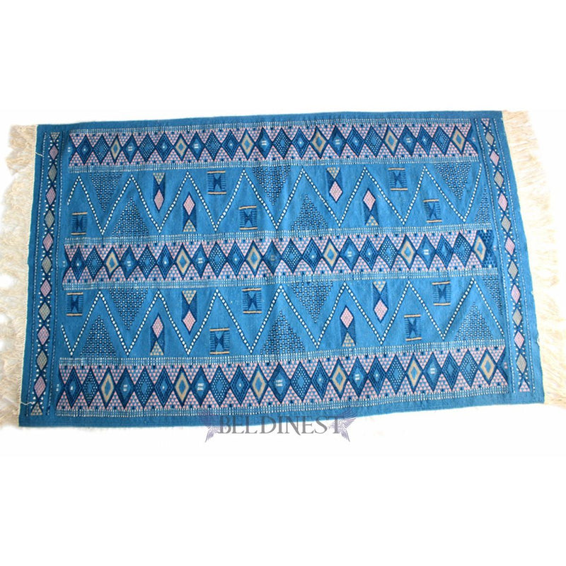 BLue Kilim Rug - Made to Order