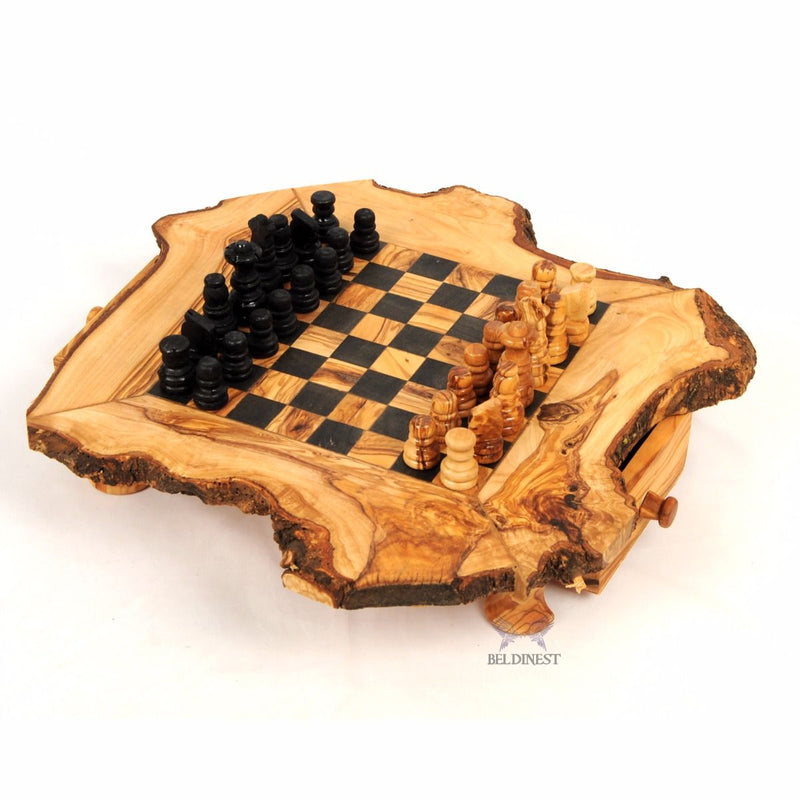 Wooden Trivet Handcrafted From Olive Wood Hexagon Shape