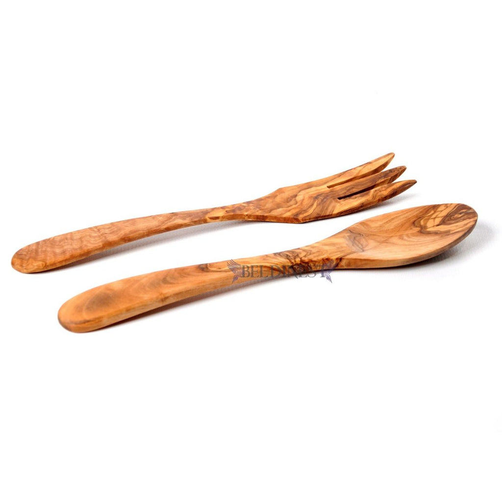 Olive Wood Spoon and Fork