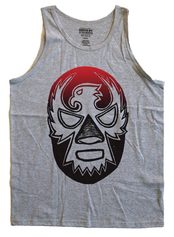Luchador Mask Tank - Heather