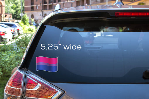 Bisexual Flag Decal