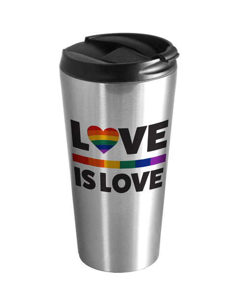 Love is Love Travel Mug