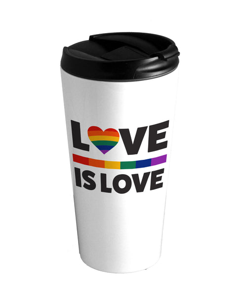 Love is Love Lion Travel Mug