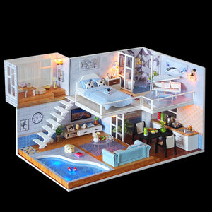 Miniature DIY Amy's Loft Set