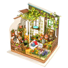 DIY Miniature Sunny Garden Dollhouse