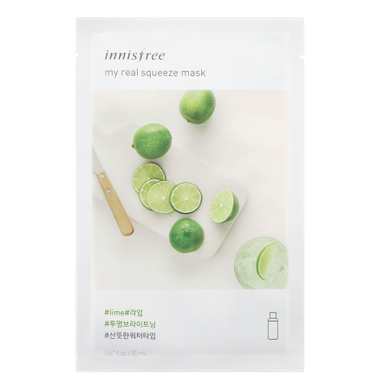 Innisfree My Real Squeeze Mask - Lime