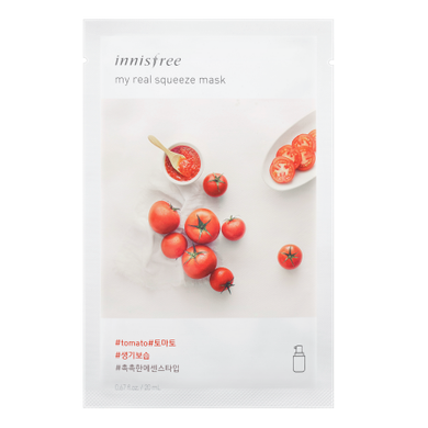 Innisfree My Real Squeeze Mask - Tomato