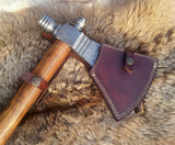 Damascus Smoke Pipe Tomahawk