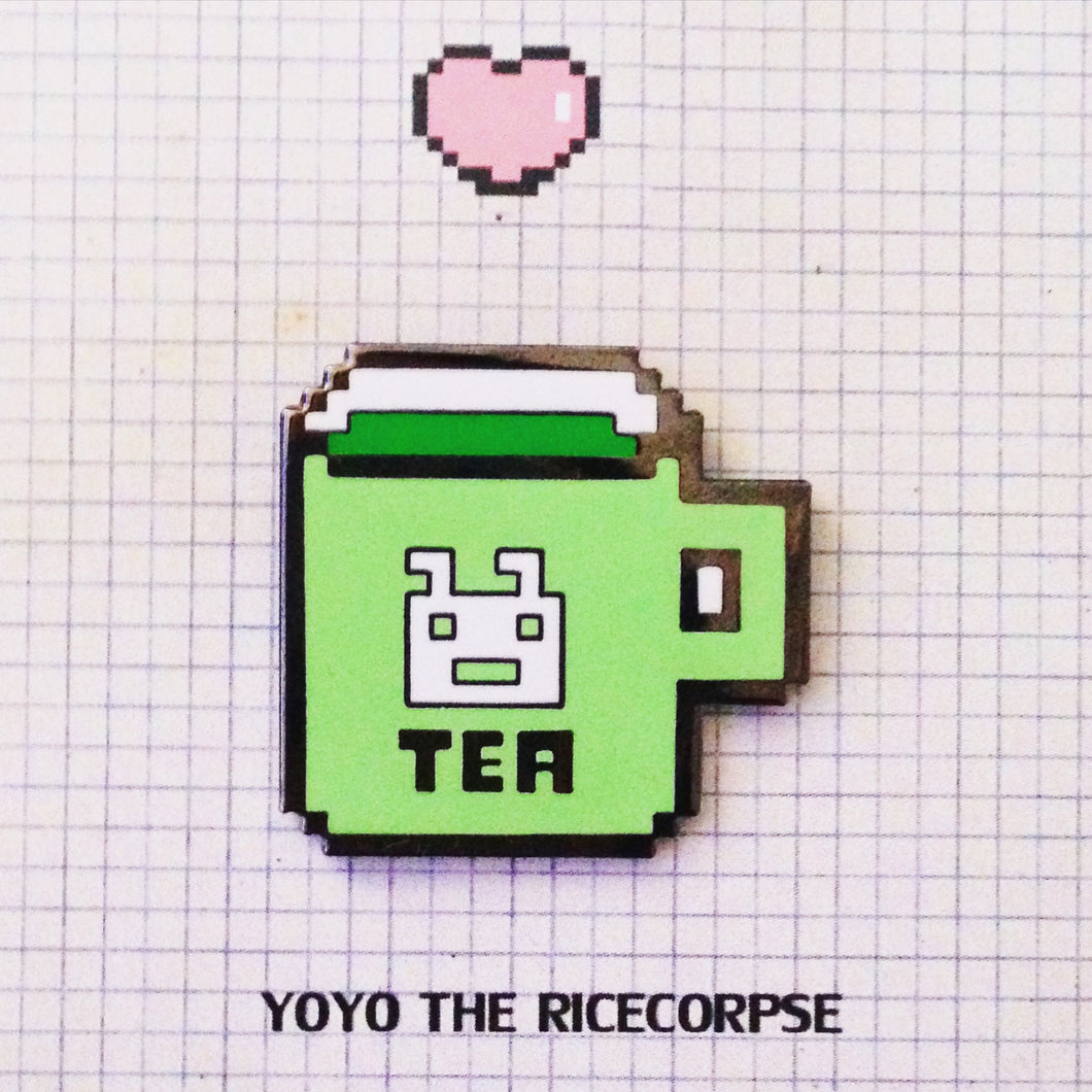 Pixel world- TEA pin