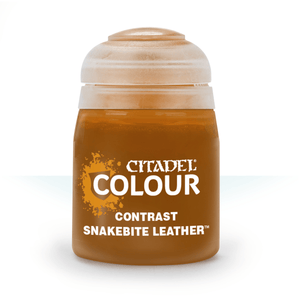 Citadel Contrast-Snakebite-Leather