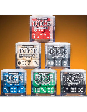 Citadel Warhammer 12MM Dice Set