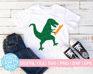 Dinosaur 1st Birthday SVG Cut File