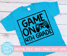 Load image into Gallery viewer, Game On School SVG Cut File Bundle