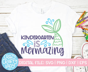 Mermaid School SVG Cut File Bundle