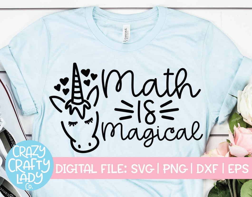 Math Is Magical SVG Cut File