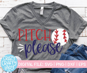 Pitch Please SVG Cut File