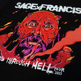 "Sage Francis ""Going Through Hell"" Tour WOMEN'S T-Shirt"