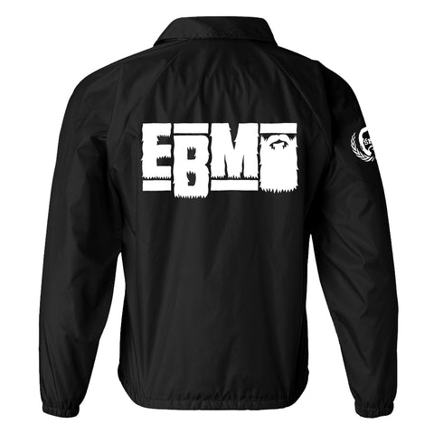 Epic Beard Men - This Was Supposed To Be Fun BLACK Coaches' Jacket + Instant MP3