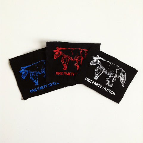 """One Party System"" 3-Patch PACK"