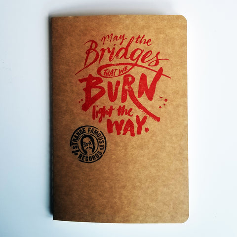 Sage Francis PERSONALIZED AUTOGRAPH Signed Notebook - LIMITED TIME OFFER!