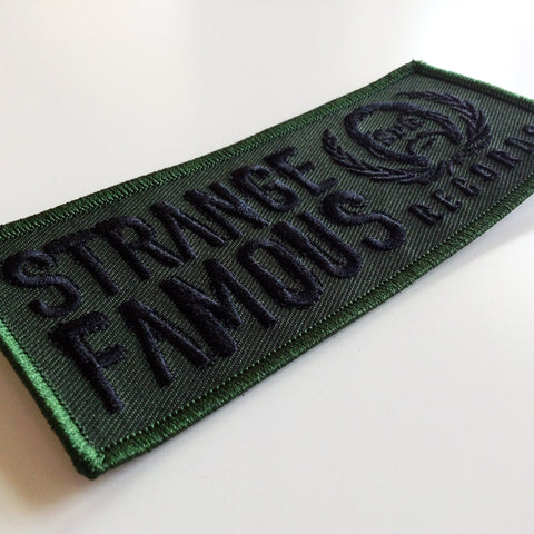 SFR Rectangle Logo GREEN Embroidered Patch