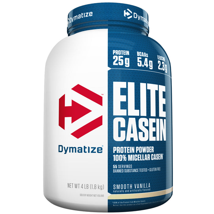 Elite Casein 4lbs  - Smooth Vanilla