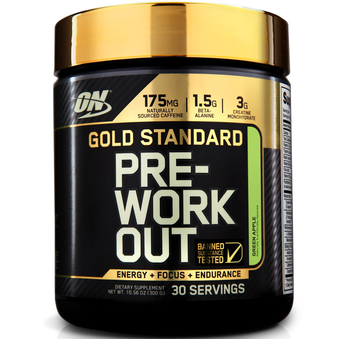 ON Gold Standard Pre-Workout - Green Apple