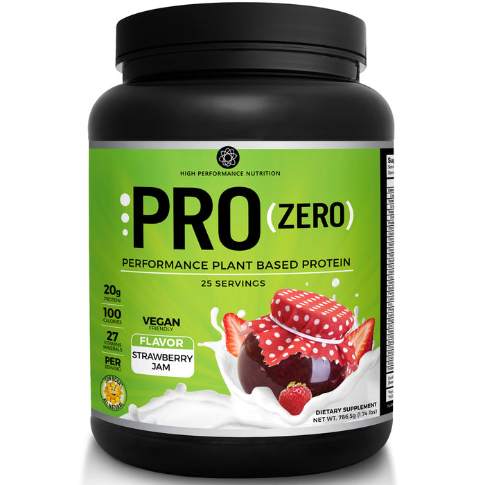HPN Pro Zero 1.65lb - Natural Strawberry Jam