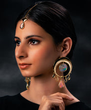 Load image into Gallery viewer, Set - Eclipse Earrings & Ion Teeka