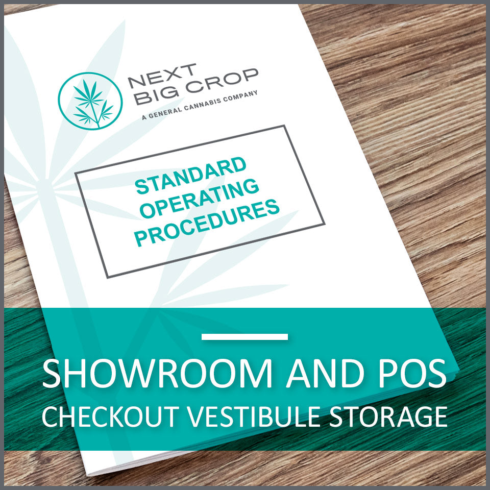 Showroom and POS Checkout Vestibule Storage D-SSC-SOP-002
