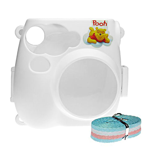 Fujifilm Instax Mini 7s Camera Protective Case with Shoulder Strap - Winnie the Pooh