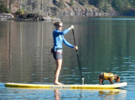 Inflatable Stand Up Paddle Board World reviewed the Airhead Na Pali SUP