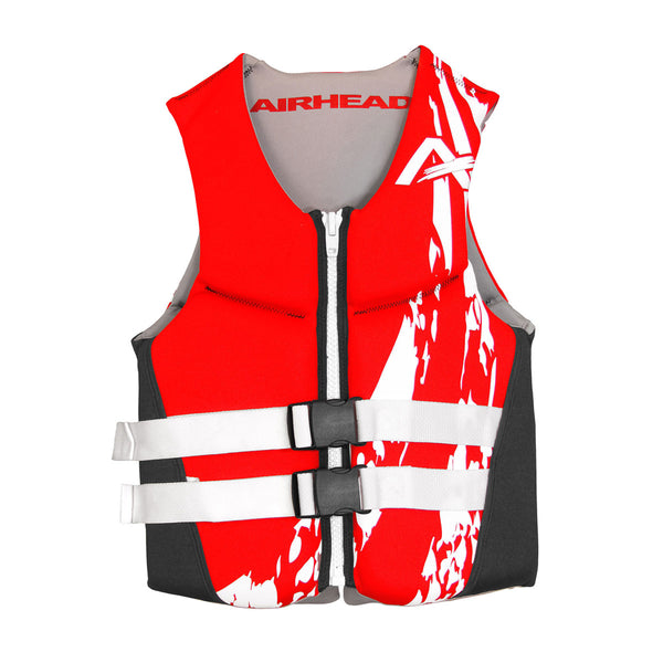 Airhead-Swoosh Neolite Kwik-Dry Child-Adult Life Vest-Red / 3XL