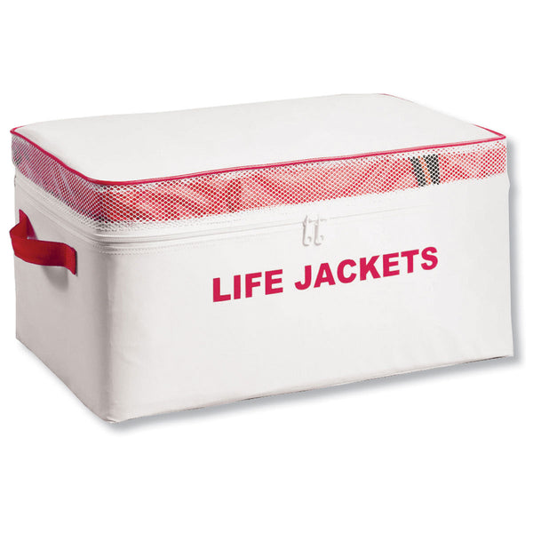 Life Jacket Storage Bag ONLY, Holds 4 Type II PFD's