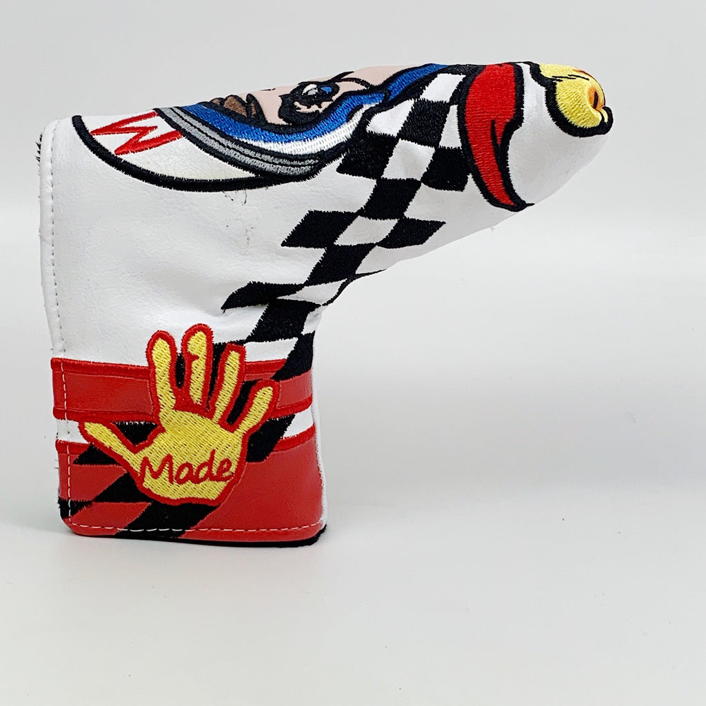 Patrick Gibbons Handmade Indy 500 Speed Racer Putter Headcover