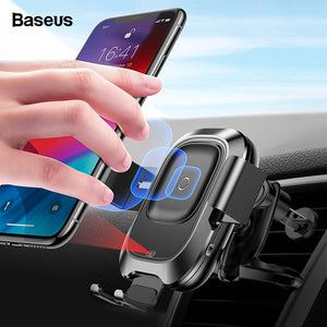 Car Wireless Charger & Phone Holder - The Online Saving