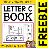 FREE Letter C Interactive Spanish Syllable Book