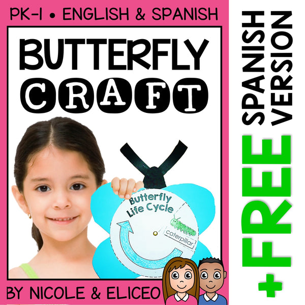 Butterfly Life Cycle Craft Activity