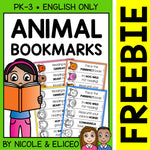 FREE Animal Bookmark Templates
