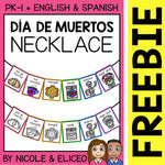 FREE Day of the Dead Activity Necklace Craft
