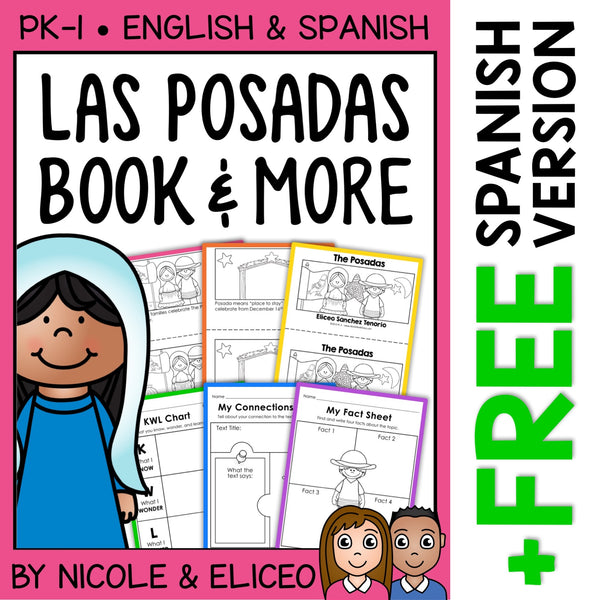 Las Posadas Activities and Book