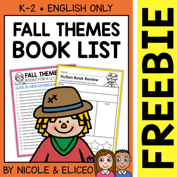 FREE Fall Activities and Book List