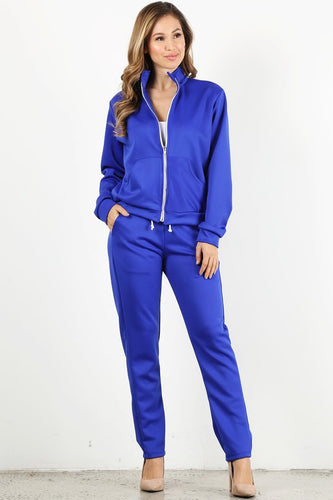 Royal Blue Tracksuit Set