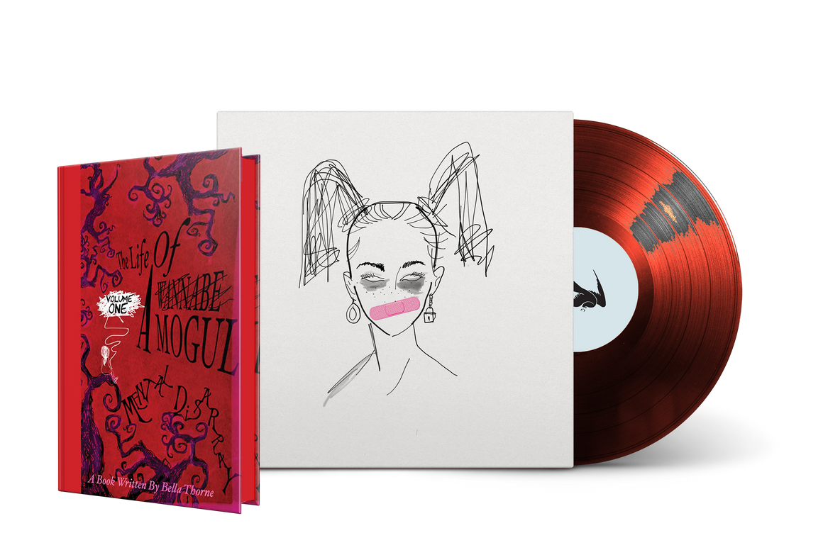 Bella Thorne's The Life of a Wannabe Mogul Ltd Ed Vinyl Audiobook + Hardcover [Signed Preorder]